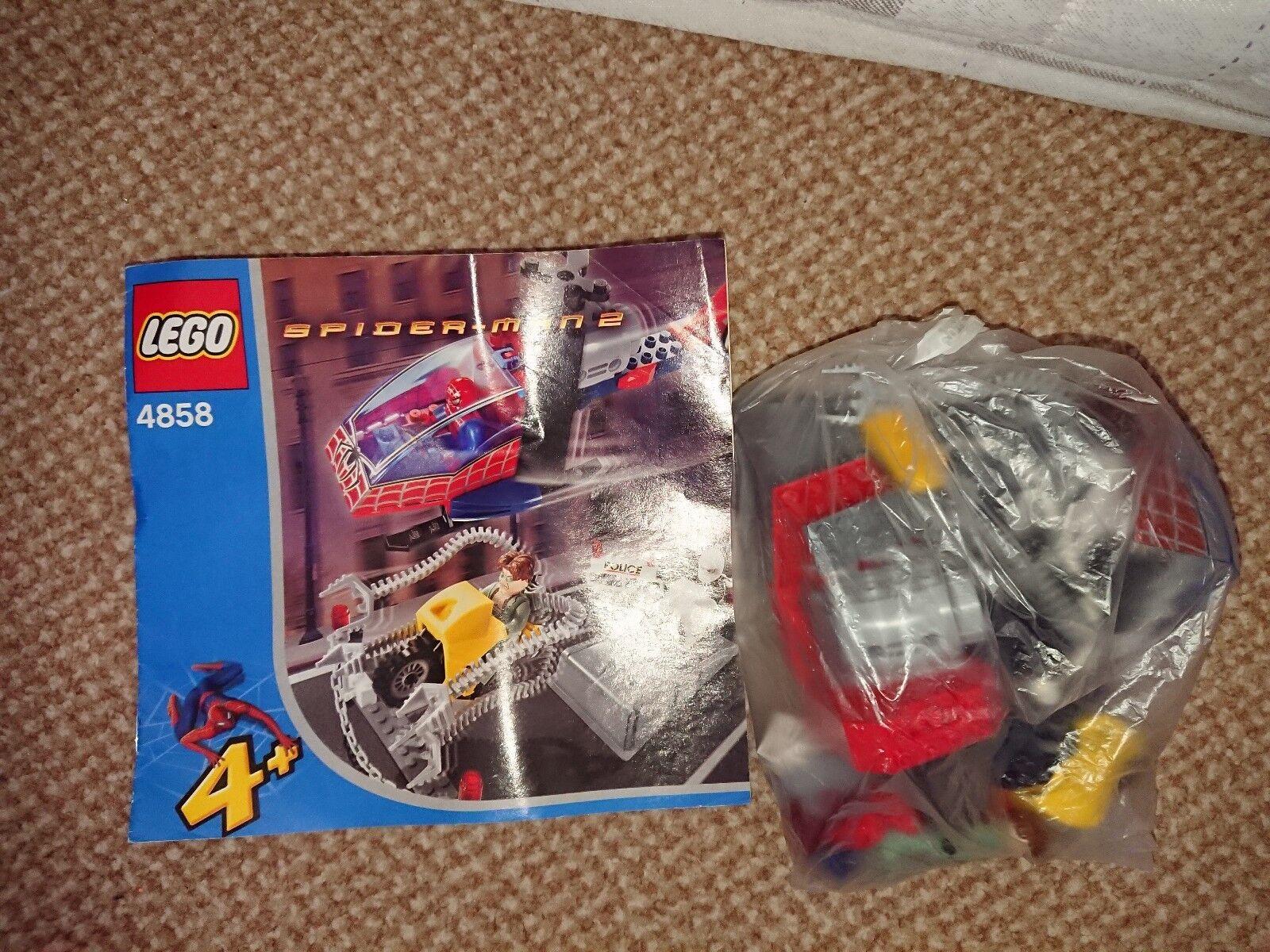Lego 4858 Doc Ock's Crime Spree Spiderman 2