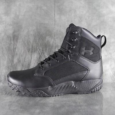Cooperación Gaseoso lavandería  NIB Under Armour 1268951 001 UA STELLAR TAC Black Tactical Boots Size 12  S1E1 | eBay
