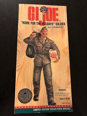 "1996 Hasbro GIJOE Exclusive /""BLACK/"" BATTLE OF THE BULGE SOLDIER 12/"" Figure NIB"