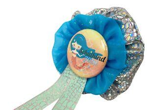Orden-Einschulung-Schultuete-Meerjungfrau-Anstecker-Button-Zuckertuete-Schultag