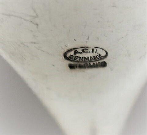 Andet, Jeanne. Sølv sauceske (925). Længde 16 cm
