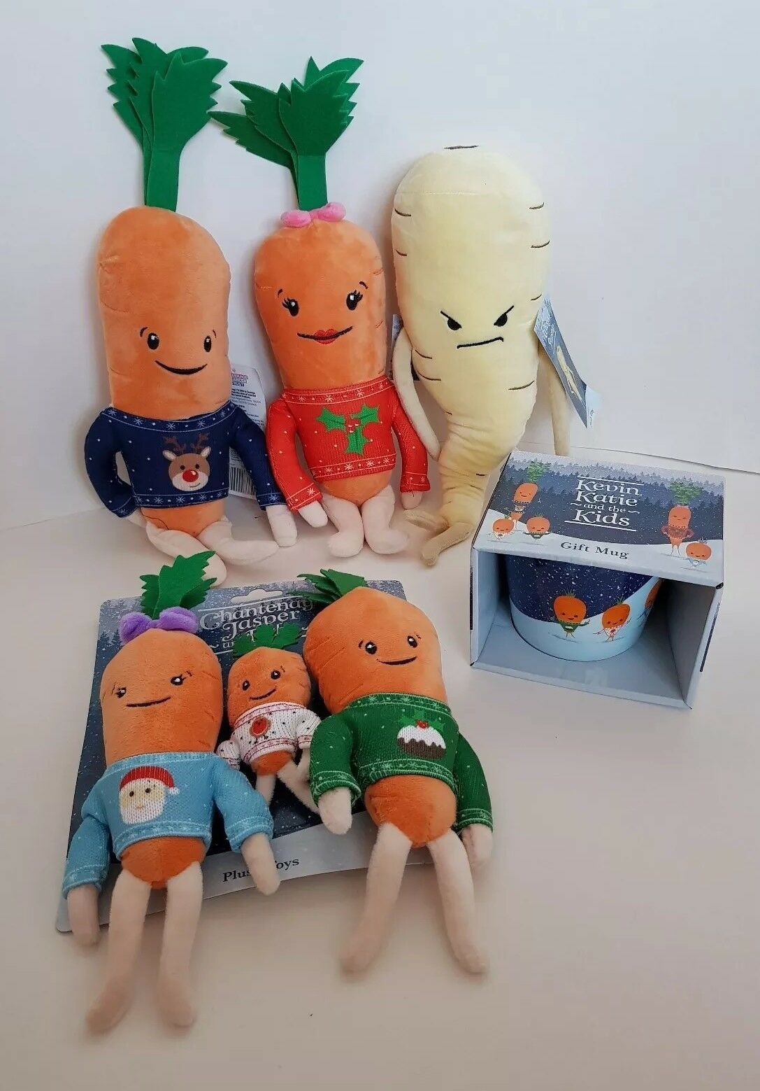 Kevin Kevin Kevin Carrot Bundle Katie Carrot, children carrots, Pascal The Parsip, Cup (new) a79248