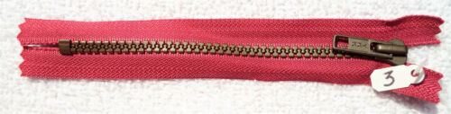 3 YKK Vislon High Quality ZIppers 6 inch selection of 11 colors pants bags