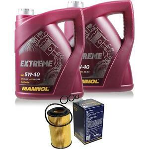 Olwechsel-Set-10L-MANNOL-Extreme-5W-40-Motoroel-SCT-Filter-KIT-10203721