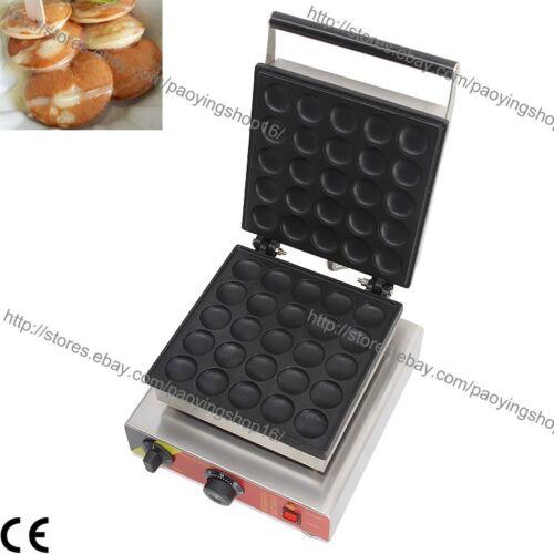 Commercial Nonstick Electric Dutch Poffertjes Mini Pancake Baker Maker Machine