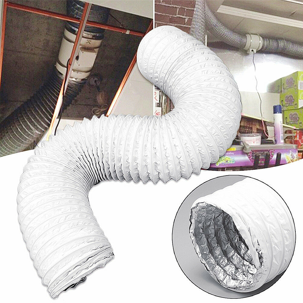 Portable Air Conditioner Exhaust Vent Hose Tube 6 Inch Diame