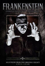 Frankenstein: The Legacy Collection (DVD, 2014, 4-Disc Set) New & Sealed