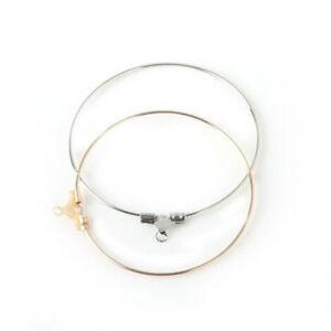 Image Is Loading 20pcs Charms Beading Hoop Loop Earring Ear Wire