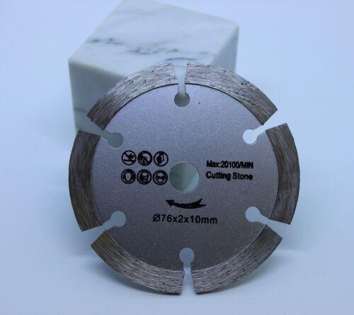 Diamant Trennscheibe passend für Bosch GWS 10,8 12V Granit Naturstein Fließen