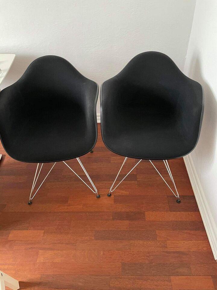 Spisebordsstol, Polypropylene og tekstil , Charles Eames