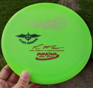 Rare-PENNED-Team-Stamp-Star-Destroyer-Innova-Disc-Golf-NEW-CHOOSE-your-COLOR