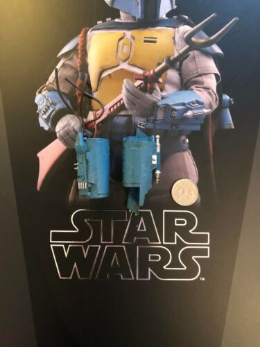 Hot Toys Star Wars Animated Boba Fett Wrist Gauntlets loose 1/6th scale