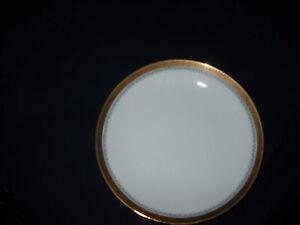 Jahre-BAREUTHER-Waldsassen-SALAD-plates-GOLD-TRIM-6-available