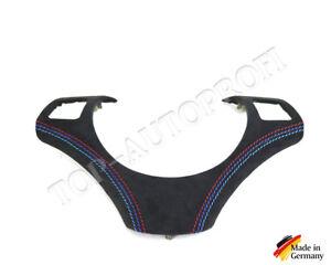 BMW-E90-E91-E92-E93-E87-E88-M-Paket-Lenkrad-Spange-neu-beziehen-mit-Alcantara