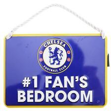 No1 Fan Chelsea F.C Bedroom Sign - GIFT // PLAQUE