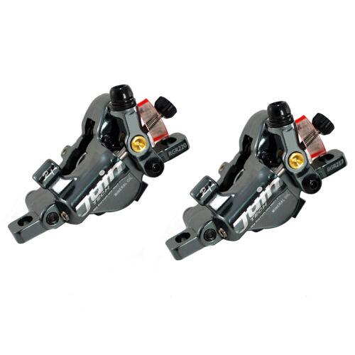JUIN TECH R1 Hydraulic Road CX Disc Brake set 160mm w// Rotor Front+Rear Gray