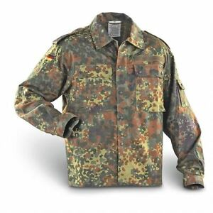 f7feb14e3fa71 Details about German Army Flecktarn Camo Shirt ( Choice of Size ) Military  Surplus