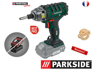 PARKSIDE® Boulonneuse/Visseuse à choc sans fil PDSSA 20-Li A1, 20V New !