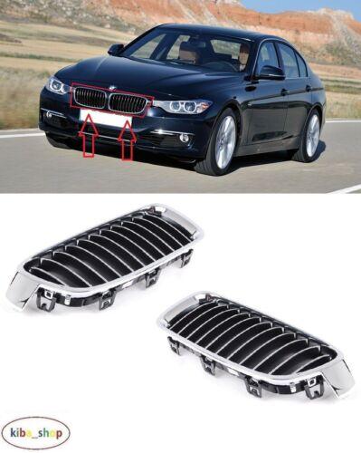 BMW 3 F30//F31 2012-2016 nouveau pare-chocs avant supérieur radiateur grilles gauche droit