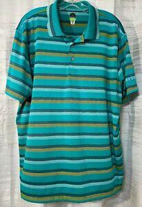 PGA-Tour-pro-series-men-039-s-golf-polo-shirt-Size-XXL-Athletic-fit