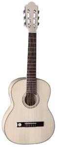 Fichte/ahorn Pro Natura Silver 1/2 Angemessen Kindergitarre