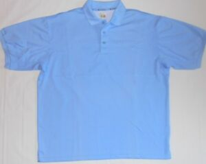 79bece15a97 Image is loading Columbia-Sportswear-PFG-Blue-Polo-Shirt-Mens-Size-