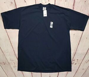 Pro-Club-Men-039-s-Big-Tall-Navy-Blue-Cotton-T-Shirt-Size-3XL-Short-Sleeve-NWT