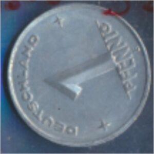 DDR-Jaegernr-1505-1952-E-Stgl-unzirkuliert-Aluminium-1952-1-Pfennig-7849407