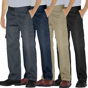 Dickies Work Pants Men Relaxed Straight Leg Cargo Pocket Pant Wp592 Colors 30 44 Ebay