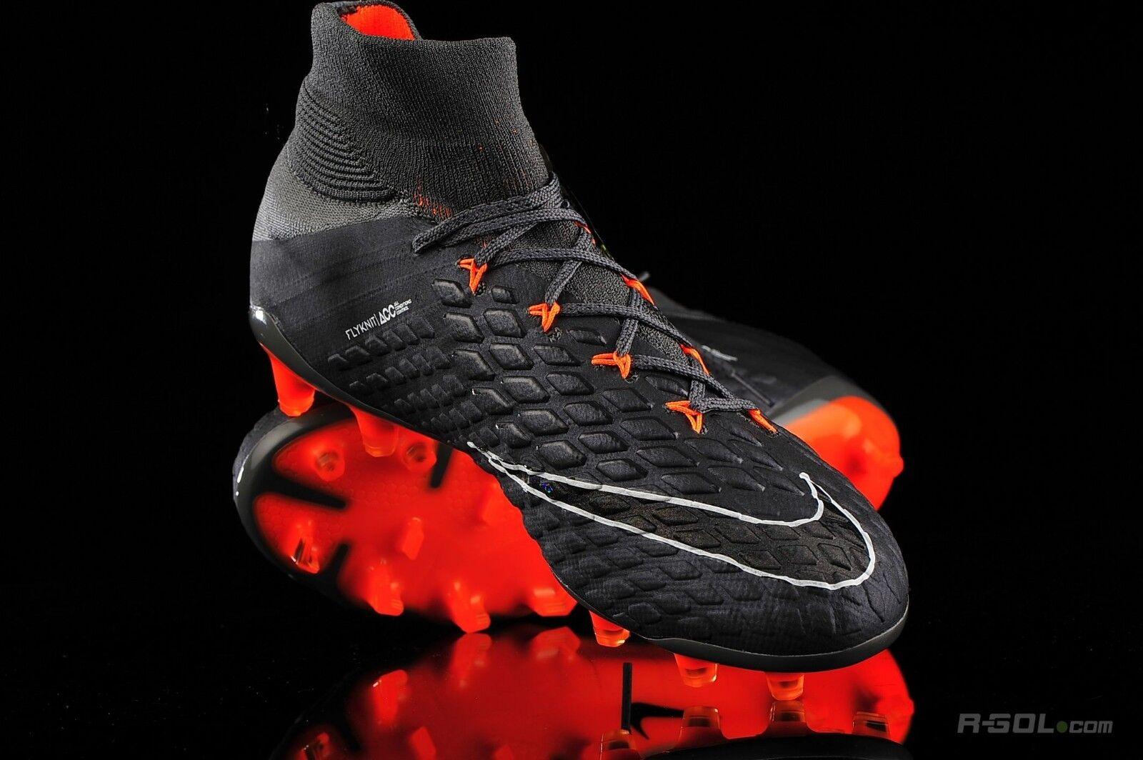Nike Hypervenom Fantasma 3 Elite DF Fg gris Oscuro para Hombre Talla 9.5 Wmns SUECO 11 AH7270-081