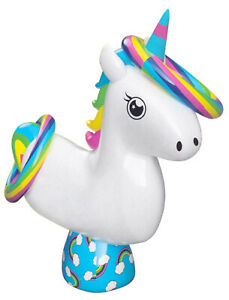 Inflatable-Unicorn-Ring-Toss-Quoits-Beach-amp-Garden-Throwing-Game-Family-R03-0451