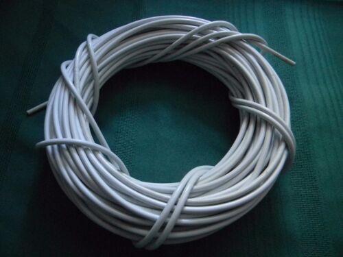 blanc Universel Externe Câble Boîtier 4.64 mm vendu par le pied