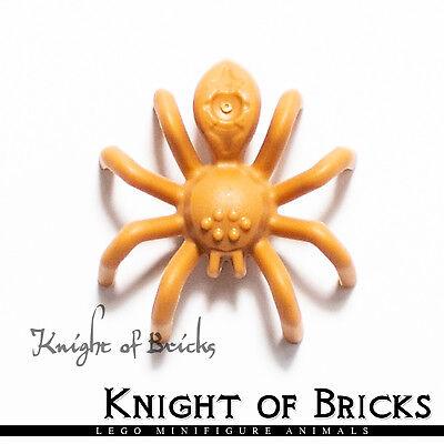 LEGO Minifigure Animals MEDIUM DARK FLESH Spider with Elongated Abdomen