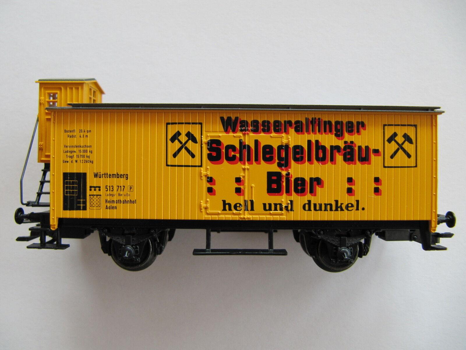 Märklin  Schlegel  Bier Bremserhaus  Wagen Super Selten  | Konzentrieren Sie sich auf das Babyleben