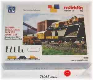 """Märklin 78083 argomenti-complemento confezione /""""cantiere/"""" #neu in OVP #"""