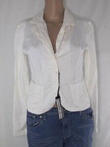 Caricamento dell immagine in corso giacca-donna-bianco-p-e-made-italy -taglia-s- 9f9dd0911413