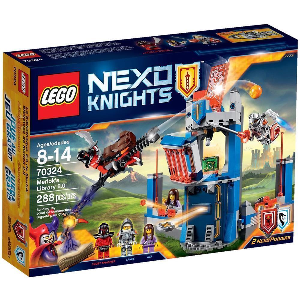 LEGO ® Nexo Knights ™ 70324   merloks Biblioteca 2.0  esclusivo Set Nuovo Scatola Originale nuovo MISB  liquidazione