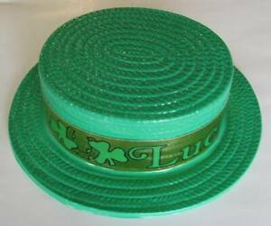 The-Beistle-Company-7-Pack-Luck-of-the-Irish-St-Patrick-039-s-Day-Hat-Green-Gold