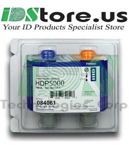 Geniune-Fargo-HDP5000-84061-Color-UV-Ribbon-YMCFK-500-prints-Sealed-New