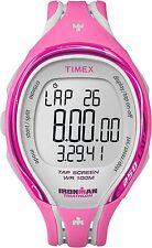 Timex Women's T5K591 Ironman Pink 250-Lap Resin Digital Watch