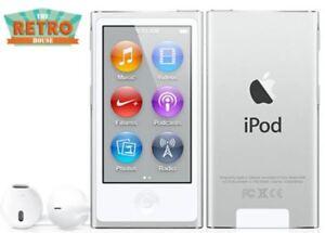 NEW! Apple iPod nano 7th Generation Silver / White (16GB) (Latest) w/ Bluetooth 885909565405