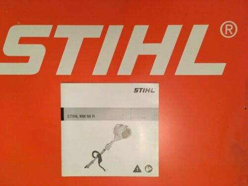 Stihl Kombi Combi Engine KM56 R Instruction Manual Brand New KM 56