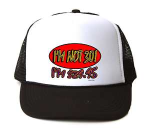Image Is Loading Trucker Hat Cap Foam Mesh 30th Birthday I