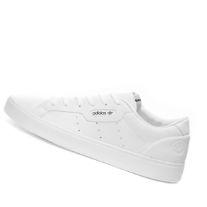 ADIDAS-WOMENS-Shoes-Sleek-Vegan-White-Green-amp-Black-FX7761