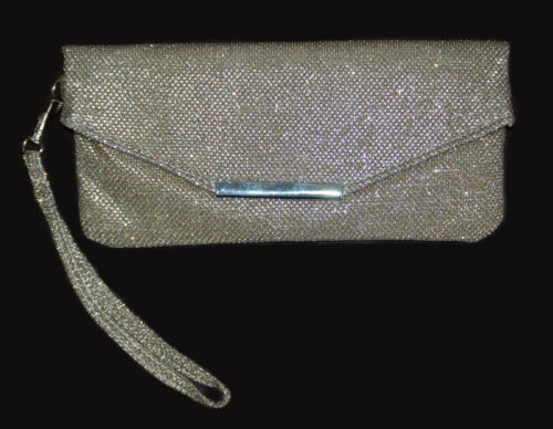 Silber SALE/%/%/% NEU!! Party-Glitter-Clutch Versandhaus