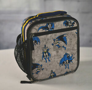 Pottery Barn Kids Batman Classic Lunch Box Bag Cooler Hard