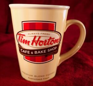 Limited Edition 2012 Tim Hortons Embossed Ceramic Coffee Mug. FOR DISPLAY ONLY!