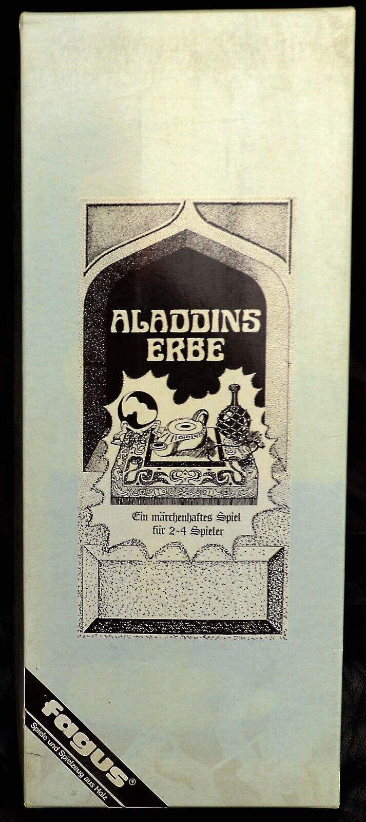 Aladdins Erbe - sehr seltenes Spiel von Fagus