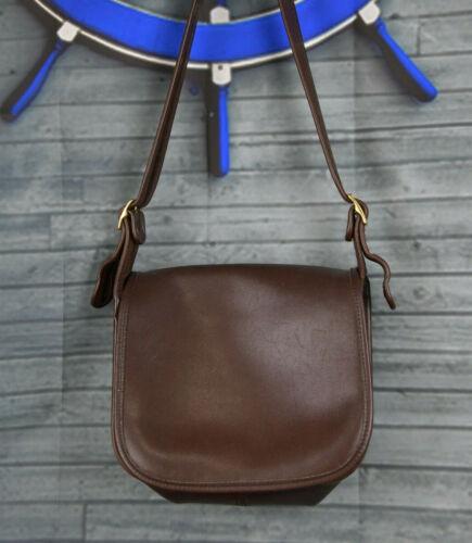 Crossbody Saddle Bag Cartridge Bag Sienna Brown Leather Handbag Satchel
