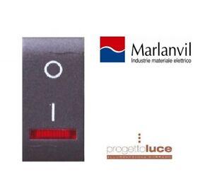 BTICINO-LIVING-COMPATIBILE-MARLANVIL-INTERRUTTORE-BIPOLARE-LUMINOSO-7712-2